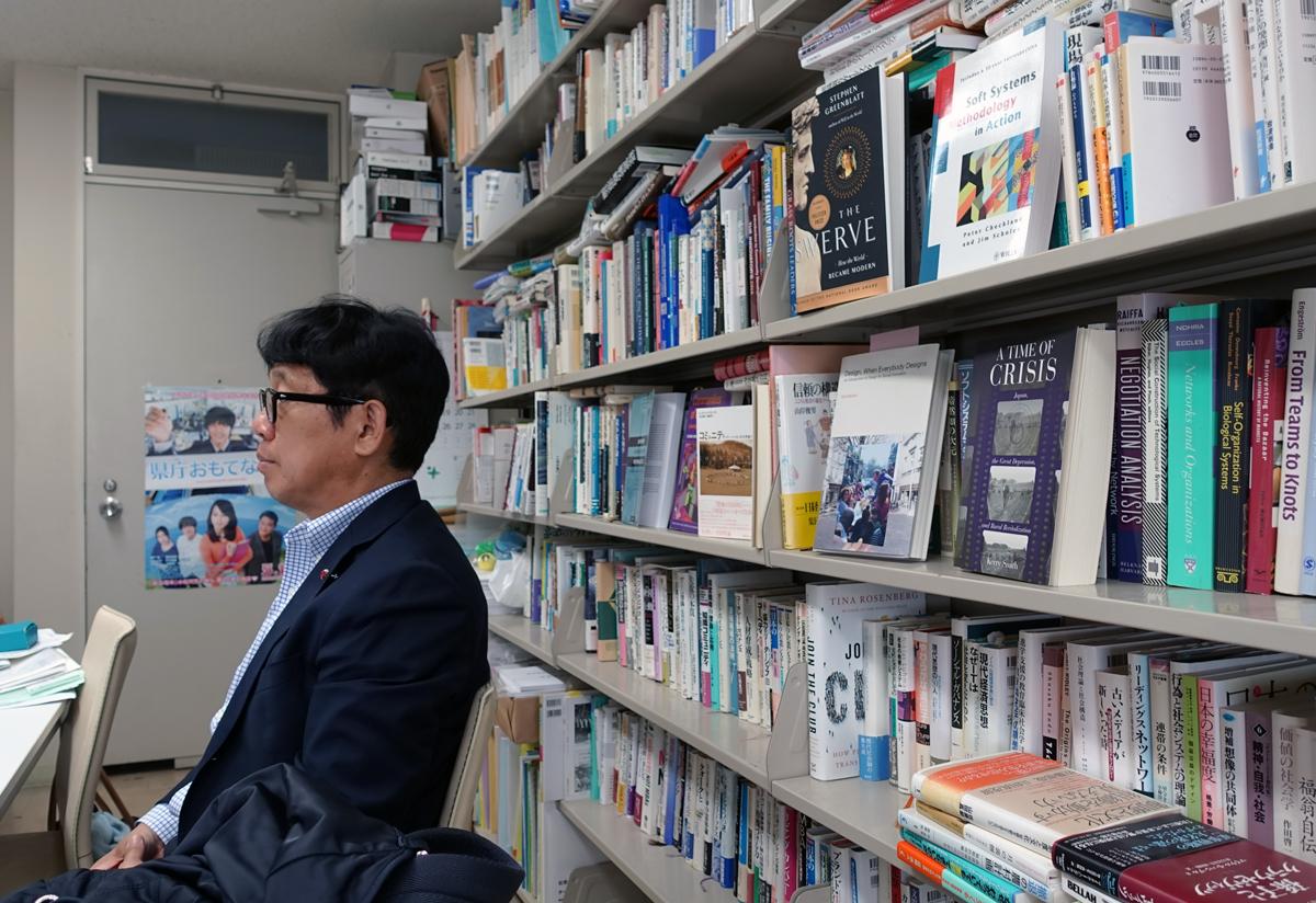 飯盛教授の研究室